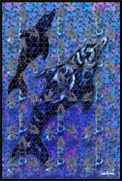 Xavier Cortada: Bottlenosed Dolphin