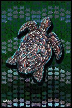 Xavier Cortada: Kemp's Ridley Sea Turtle